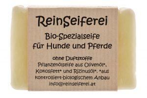 ReinSeiferei Bio-Spezialseife für Hund und Pferddundpferd